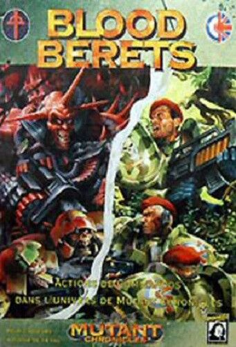 diseñador en linea Jeu de société Blood Berets - Neuf - DesCochetes DesCochetes DesCochetes - Mutant Chronicles  venta mundialmente famosa en línea