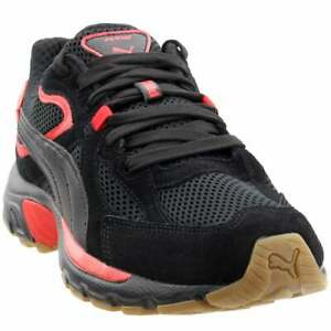 Puma-Axis-Plus-SD-Lace-Up-Sneakers-Casual-Black-Mens