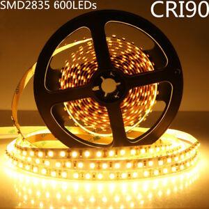 300 LED Strip Light 5m SMD 5050 Warm White DC12V Waterproof Controller B4W7
