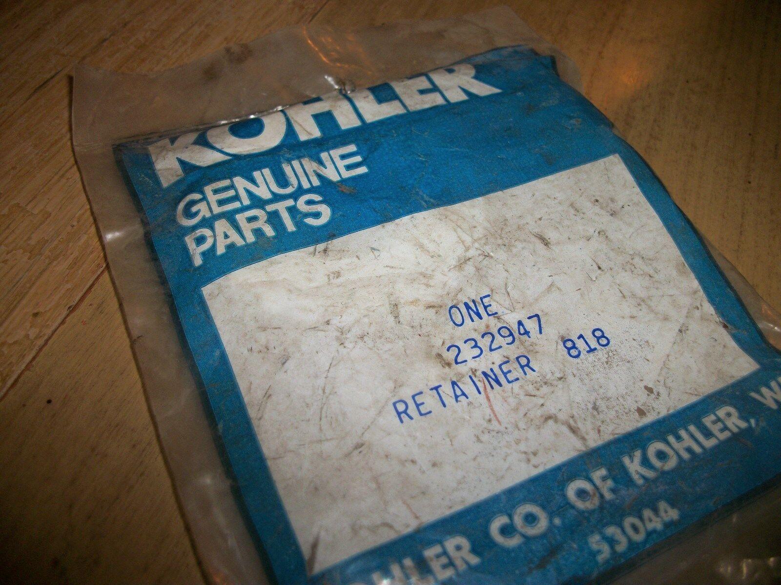KOHLER  retenedor   232947 Nuevo fabricante de equipo original