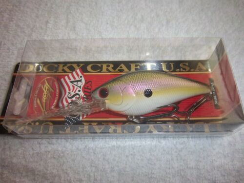 Lucky Craft FLAT CB D-20 Crankbait Color NEW MILO SHAD as SHOWN IN PICTURES