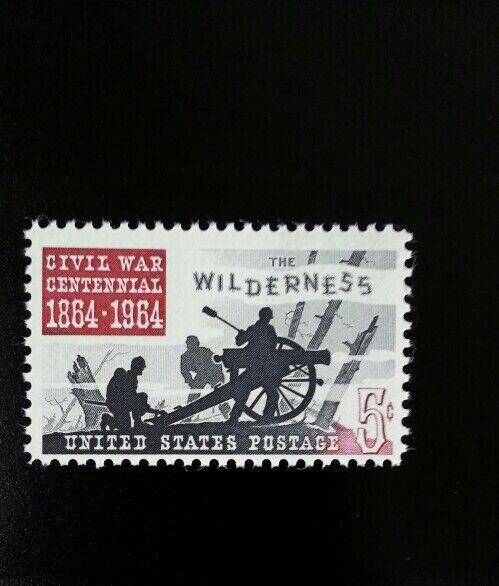 1964 5c The Wilderness, Civil War, 100th Anniversary Sc