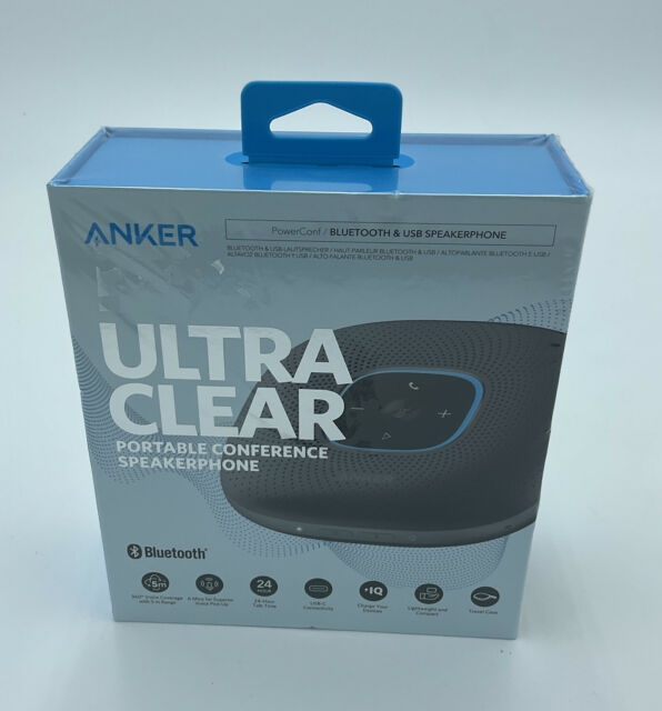 Anker Power Portable Conference Speakerphone Bluetooth & USB A3301Z11
