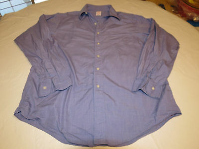 Brooks Brothers Makers Shirt Mens long sleeve button shirt 16-5 cotton EUC @