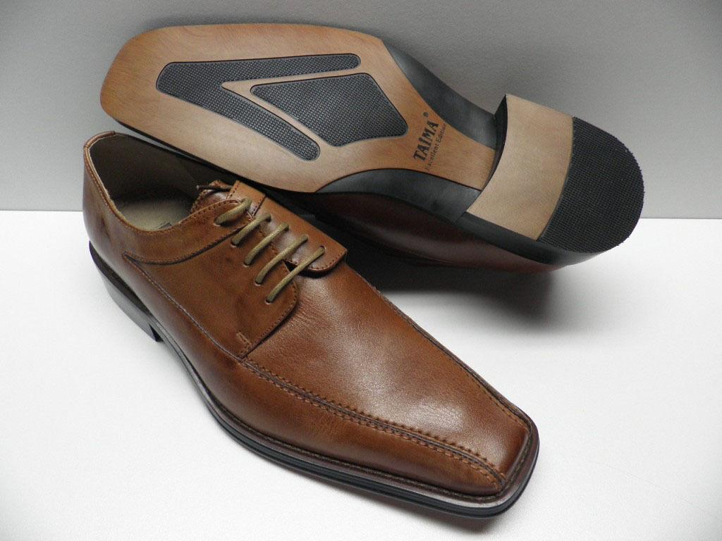 shoes TAIMA brown pour HOMME size 40 garcon costume cérémonie NEUF  11FD