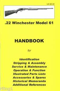 winchester model 61 assembly, disassembly manual 9780949749710 ebay Winchester Model 61 History image is loading winchester model 61 assembly disassembly manual