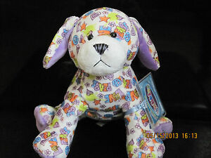 """WEBKINZ PEACE /""""N/"""" LOVE PUPPY NEW with SEALED UNUSED CODE TAG"""