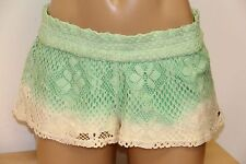 New O'Neill Swim Swimsuit Bikini Cover Up Shorts STITCH Size L WWH