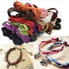 New Flat Real Suede Leather Cord Lace Thong Jewellery Making String Craft 1M 5mm