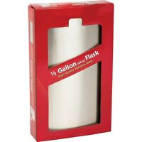 Giant Hip Flask, Stainless Steel 128 Oz, 64 Oz, 18 Oz Great Gift