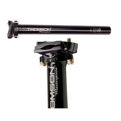 Thomson Masterpiece Setback Mountain Bike Seat Post 30.9mm 350mm Black