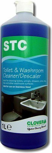 Clover STC wc cleaner 1Ltr, trèfle chemicals, toilettes, free p&p. 510