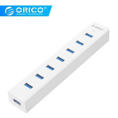 ORICO H7013-U3 White ABS Super Speed USB 3.0 7 Ports HUB Splitter Box