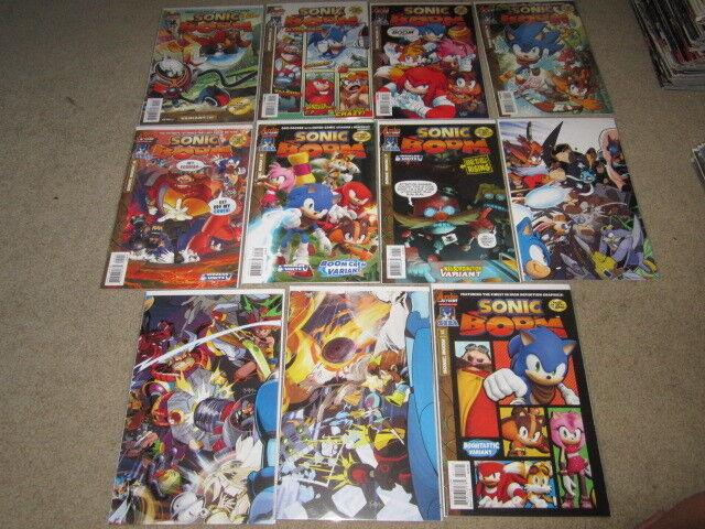 Sonic Boom (2014) #1-11 VF Archie comics