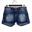 thumbnail 1 - Buckle BKE Denim Culture Distressed Stretch Low Rise Jean Denim Shorts Size 27