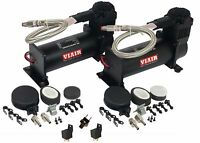 Viair 444c Air Compressors Black Dual Performance Value Pack 165-200 Switch