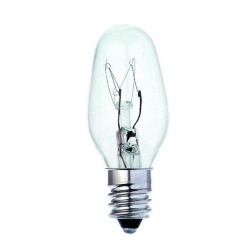 E12 02393 Armleuchter Bell Britisch Elektrisch Lampe 7w Nachtlicht Ces