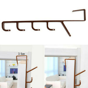Over-The-Door-Hook-Rack-Hanger-Storage-Hanging-Holder-For-Clothes-Coat-Hat-G9A