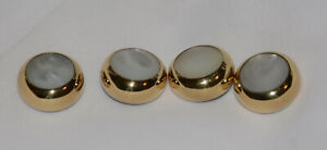 SELMER Piccolo Trumpet set of 4 GOLD PLATE finger buttons