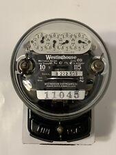 Vintage Antique 1925 Westinghouse Ob Electric Meter 10 Amp 115 Volt