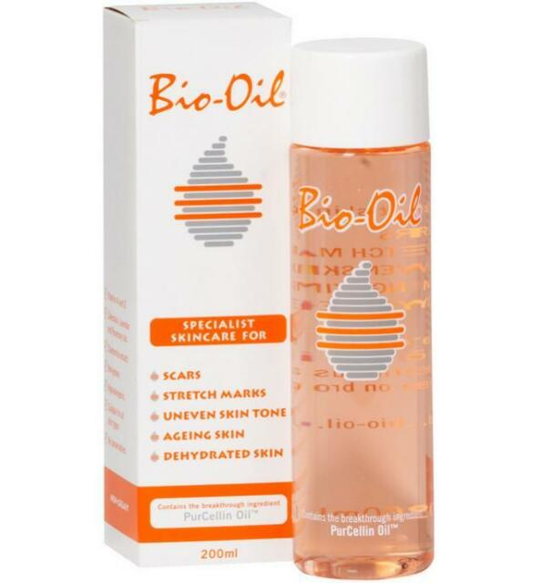 New 200ml Bio-Oil Scar & Stretch Mark Lightener Skin Blemish Reducer Anti Aging