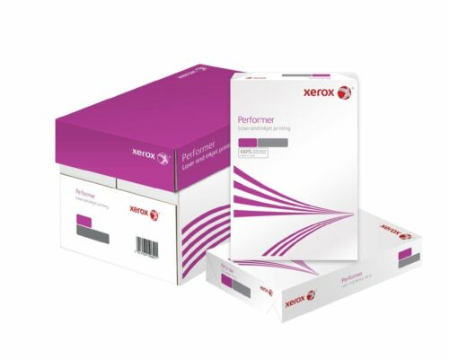 available by Ream or Box Xerox Performer White Copier Paper A4 80GSM