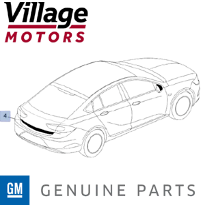 Genuine GM Holden Commodore ZB 2018-2019 | AWD Decal - Lift Gate | 95711417