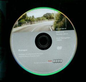 AUDI-DVD-1-Europe-Europe-navigation-MMI-2g-a4-4e0-060-884-DB-4e0060884dk-2015