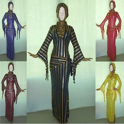 Performance Costume,Belly Dance,Saidi Galabeya,Egyptian Abaya,Oriental Dress O62