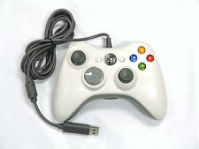 Old Skool Wired USB Controller for PC & Xbox 360 - White