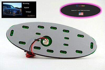 """Red LED Lo-glow light Assessory for your 3.5/"""" Wide Ford Emblem Badge"""