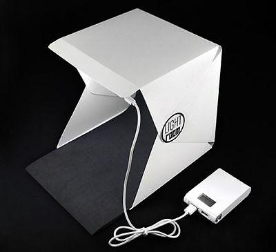 """16"""" Light Room Photo Studio Photography Lighting Tent Kit Backdrop Cube Mini Box"""