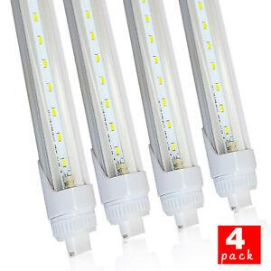 T8-LED-Light-Tube-5ft-6ft-8ft-R17D-Base-5500K-Clear-Lens-for-F96T12-HO