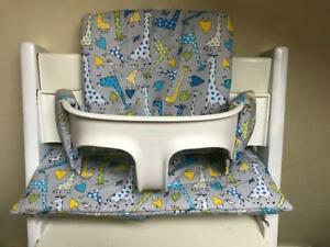 Contemplatif Cushion To Fit Stokke Tripp Trapp High Chair Giraffe's Bnib DernièRe Technologie