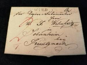 Vorphilatelie-Altdeutschland-1823-Brief-Faltbrief-WZ-Nr-16
