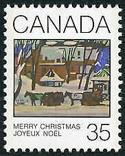 Canada Stamp #872 - McGill Cab Stand (1980) 35¢