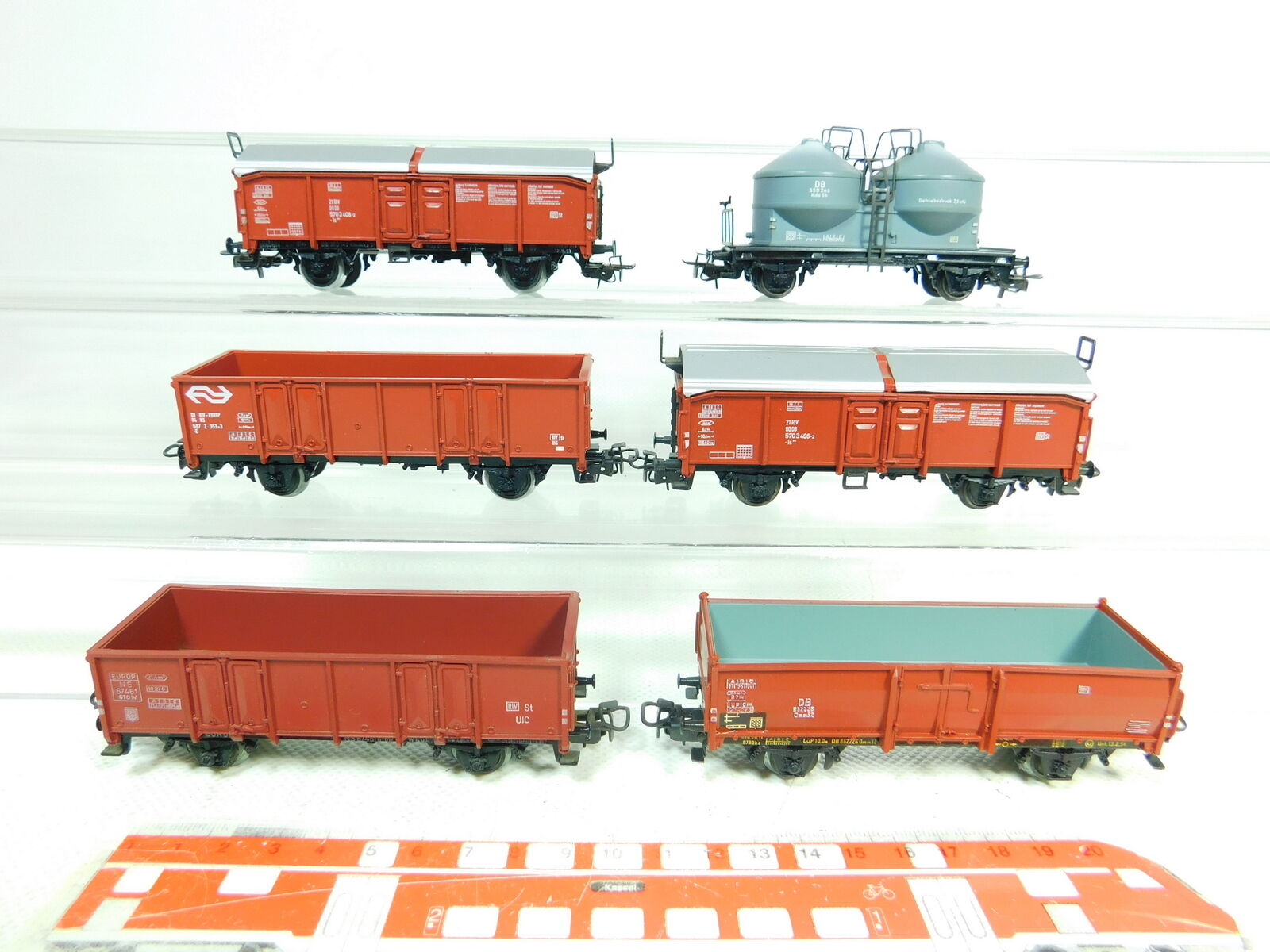 BT656-1x Märklin H0 DC Güterwagen  DB + 67461 507 2 353-3 NS für Hamo