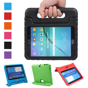 buy online e1b8d 49fd5 Details about Baby Safe Hand Grip Shock Proof Stand Case Cover For Samsung  Galaxy Tab 4 Tablet