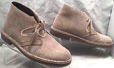 CLARKS Acre Bridge Sand Suede Chukka Desert Boots womens 7.5 M
