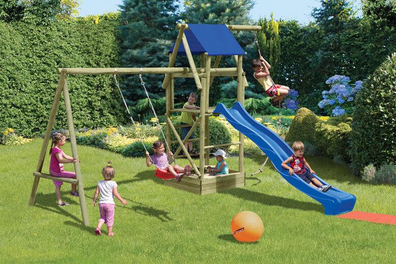 Kinderspielanlage Patrick Kinderspielgerät Spielanlage Spielanlage Spielanlage Schaukel Holz Spielturm 1de341
