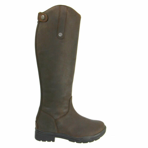 HyLAND Waterford Country Brown Leather Riding Boots for Ladies