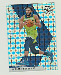 2019-20-Panini-Mosaic-SILVER-PRIZM-REFRACTOR-83-KARL-ANTHONY-TOWNS-RETAIL