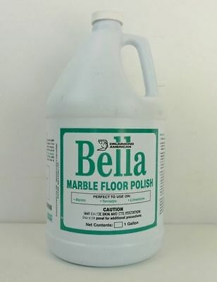 Bella Marble Floor Polish For Marble Terrazzo Onyx Limestone 4 Gallons 4 1g Ebay