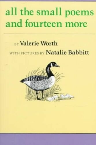 1 of 1 - All the Small Poems and Fourteen More by Lecturer in French Valerie Worth - PB