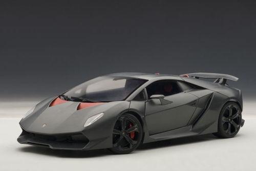 1 18 Autoart Lamborghini Sesto Elemento (Carbon Grey)