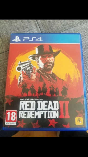 Red Dead. Redemption 2, PS4