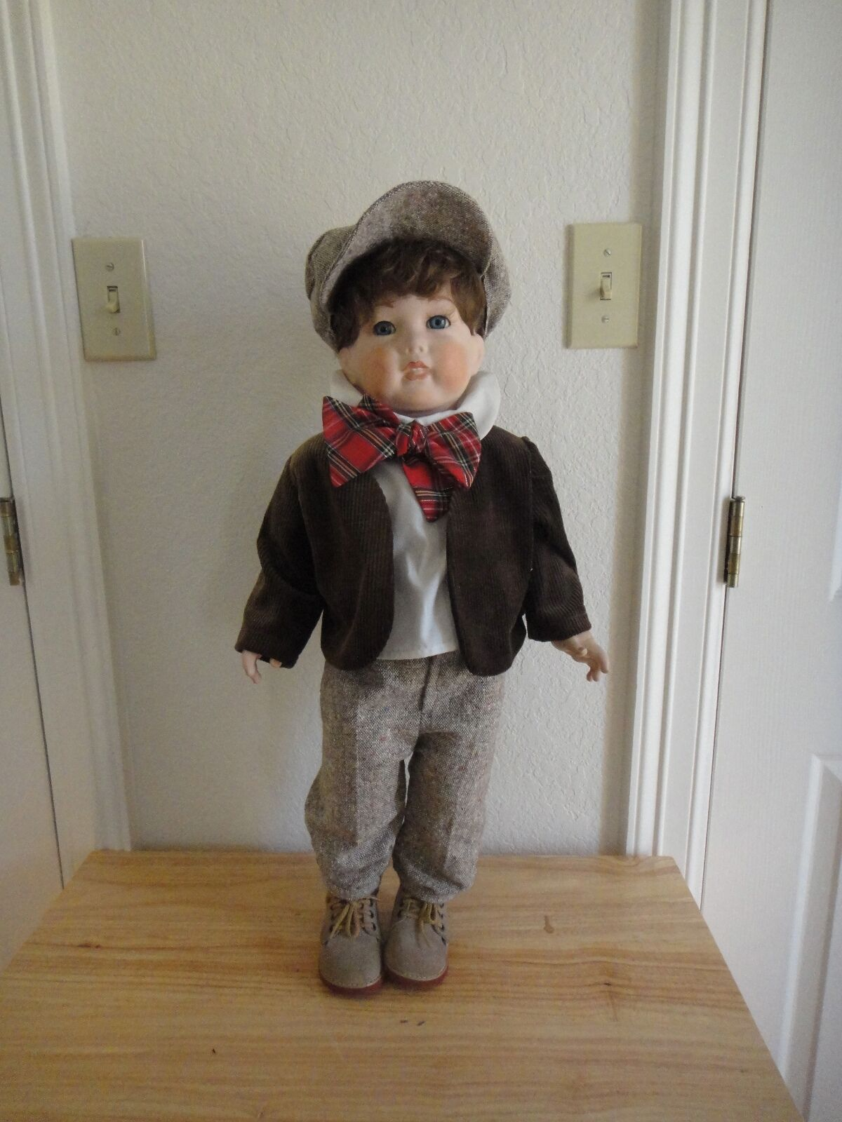 SFBJ 251 PARIS 25  all bisque reproduction boy doll