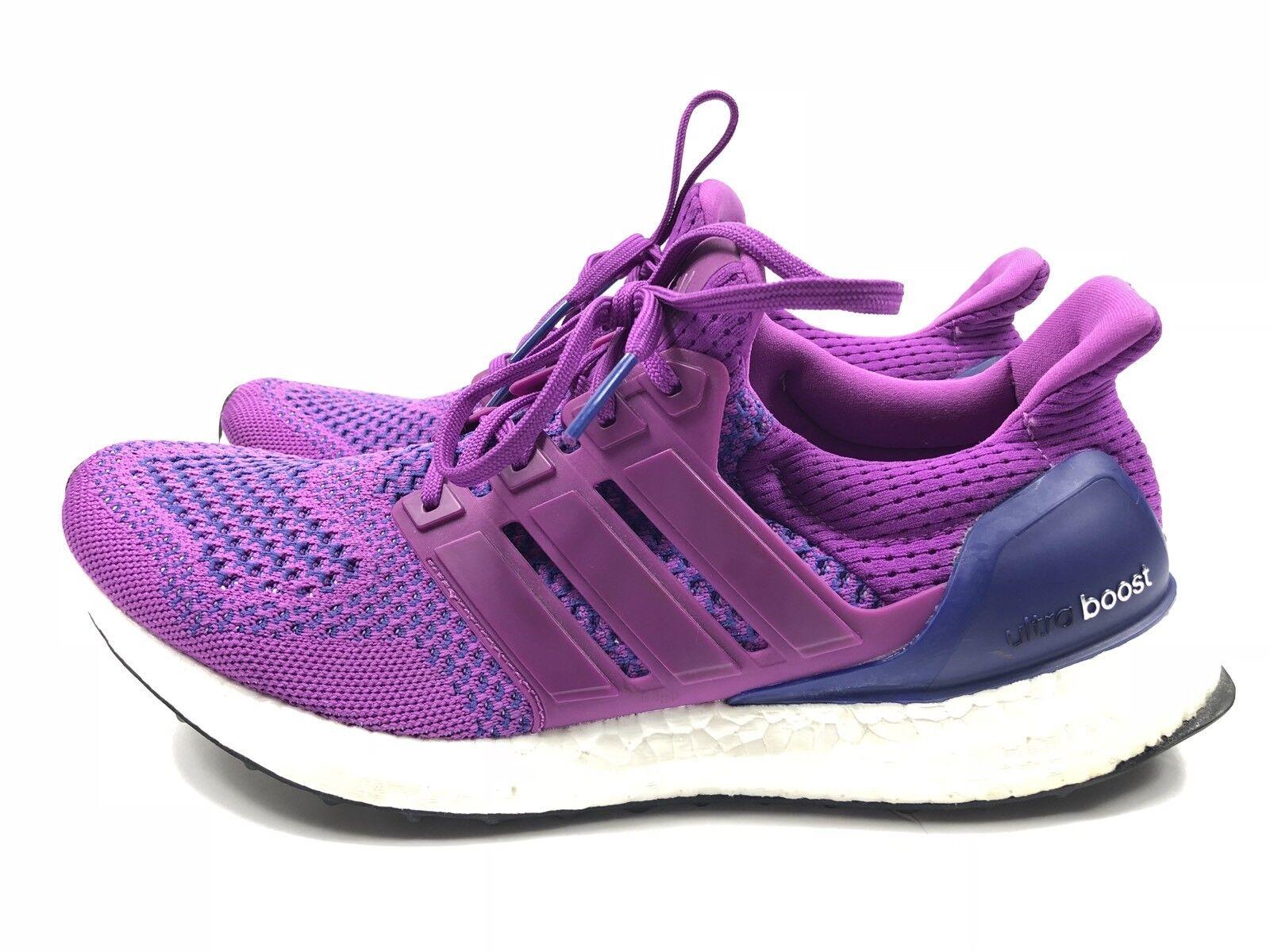Adidas Women's Purple Primeknit Ultra Boost 1.0 Running shoes 9.5