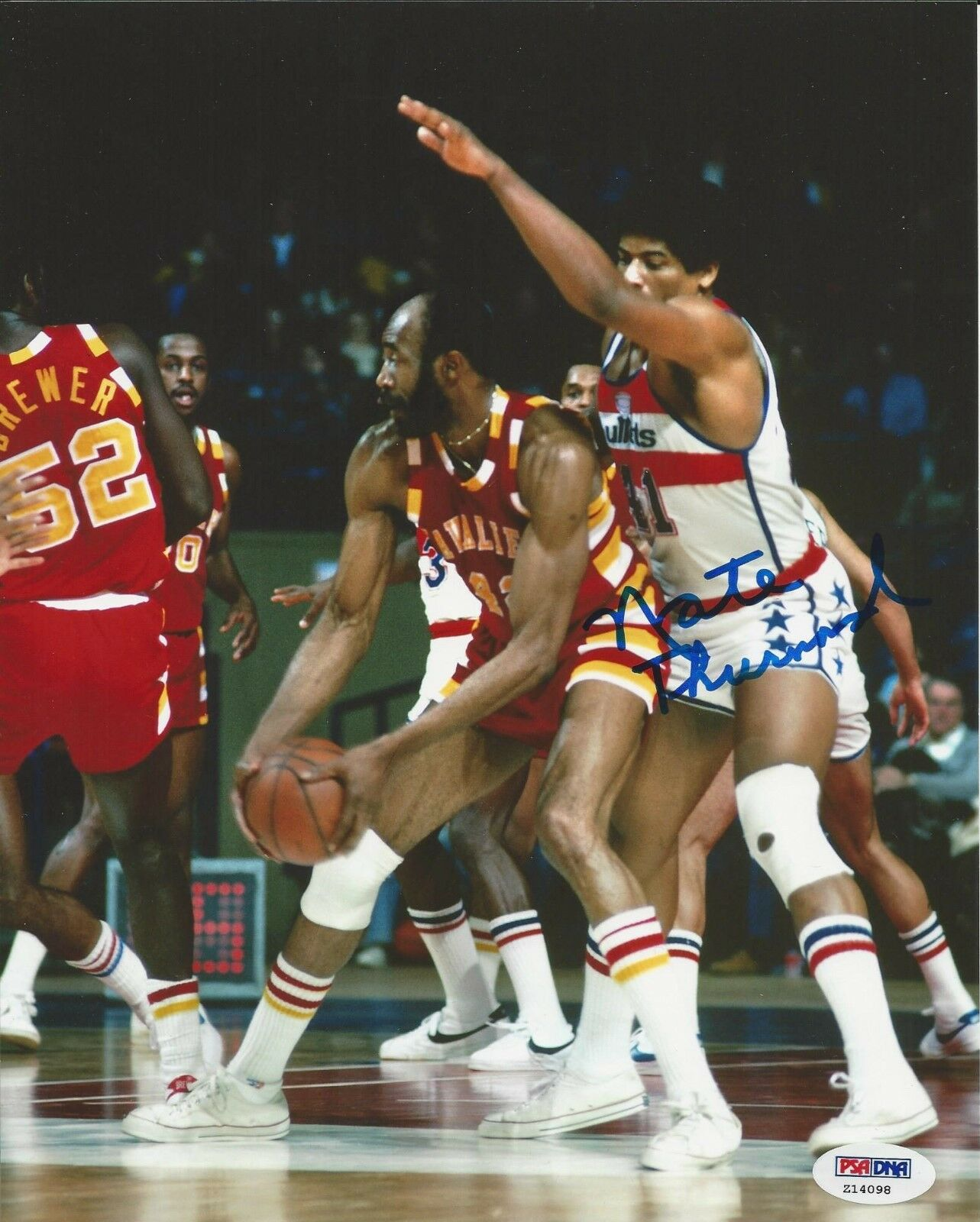 Nate Thurmond Signed Autographed Cavaliers 8x10 Photo PSA/DNA # Z14098