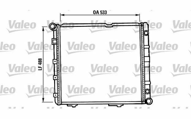 VALEO Autokühler 819387 - Mister Auto Autoteile